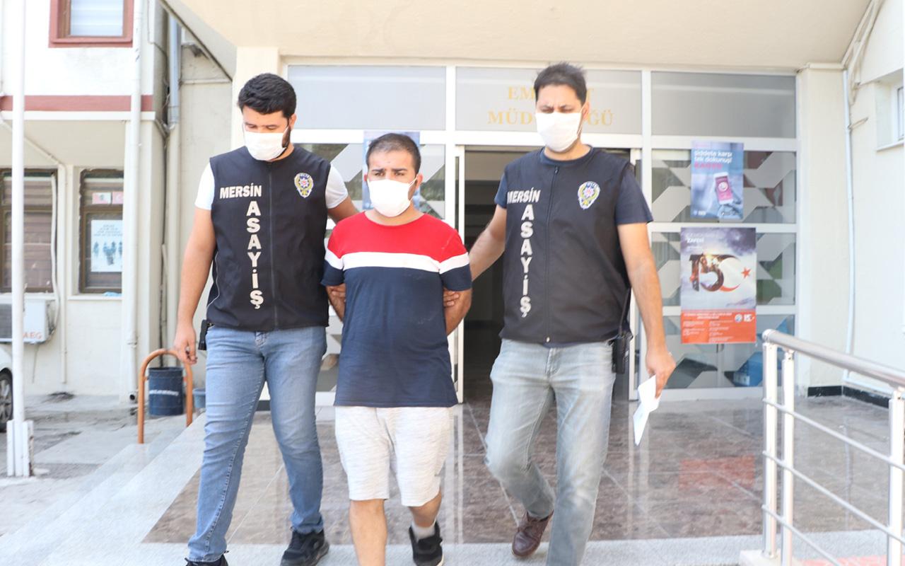 Mersin'de suçu apaçık ortada olan sapık: Yok öyle bir şey