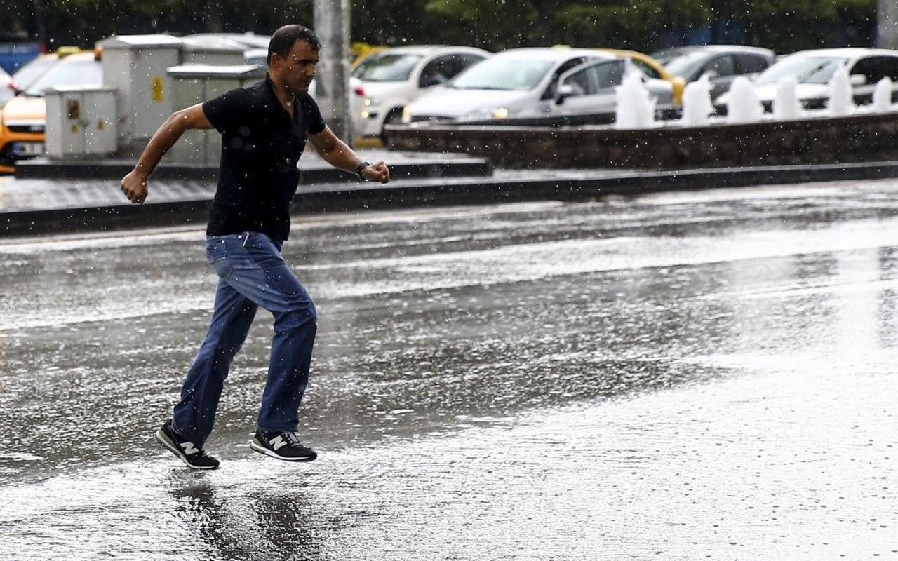 Meteoroloji'den uyarı: İstanbul ve 3 il için gök gürültülü sağanak beklentisi