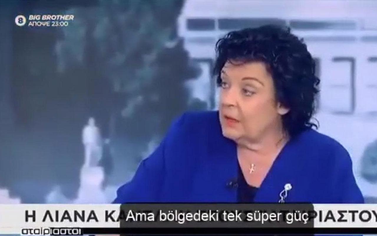 Yunan vekil Liana Kanelli: Türkiye bölgesel bir süper güç Fransa'ya güvenmekle hata yapıyoruz