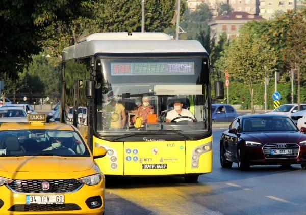 Erdoğan uyarmıştı! İstanbul'da toplu ulaşımda sosyal mesafesiz ayakta yolculuk