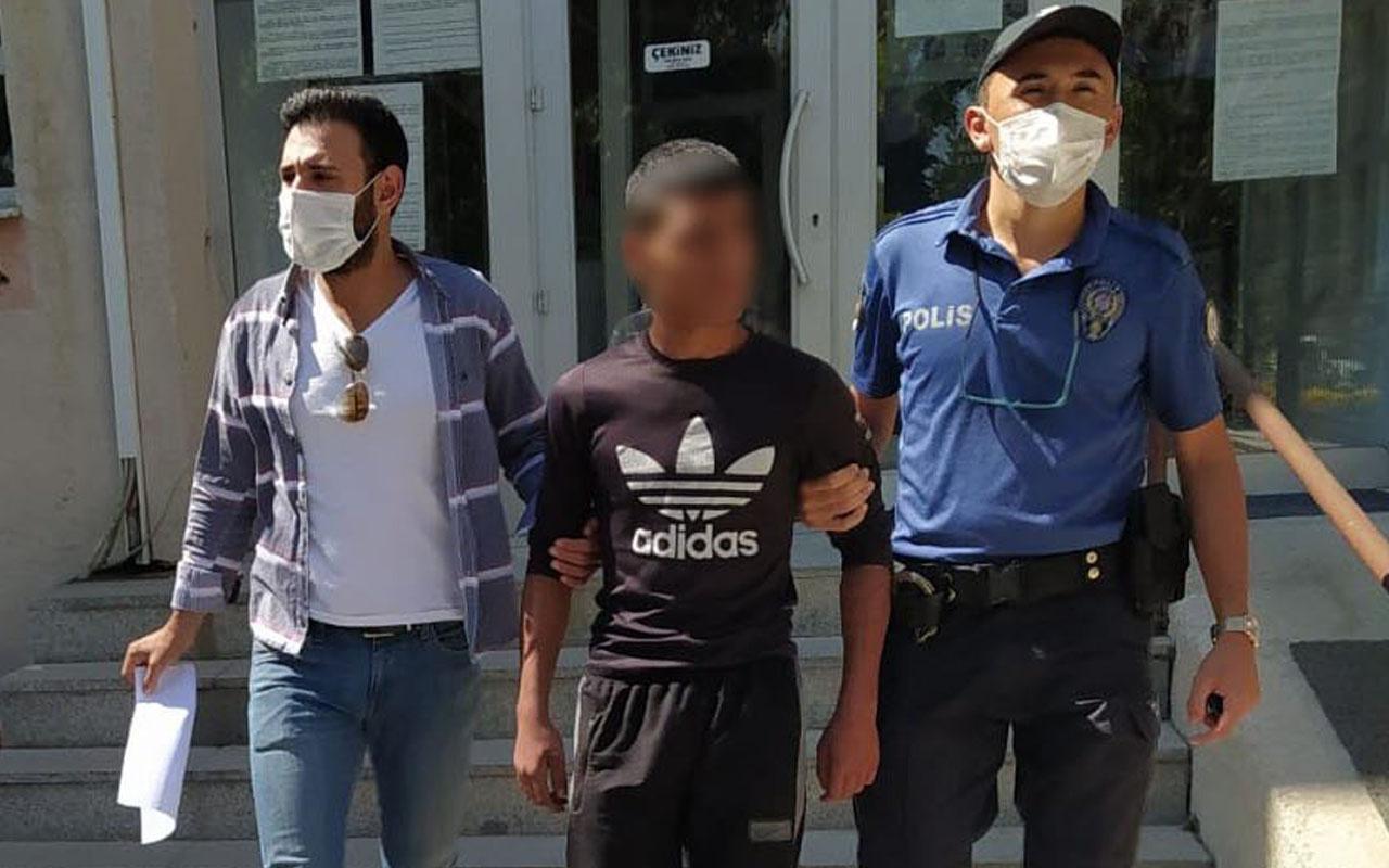Edirne'de esnafa bıkkınlık veren 15 yaşındaki hırsız yakalandı