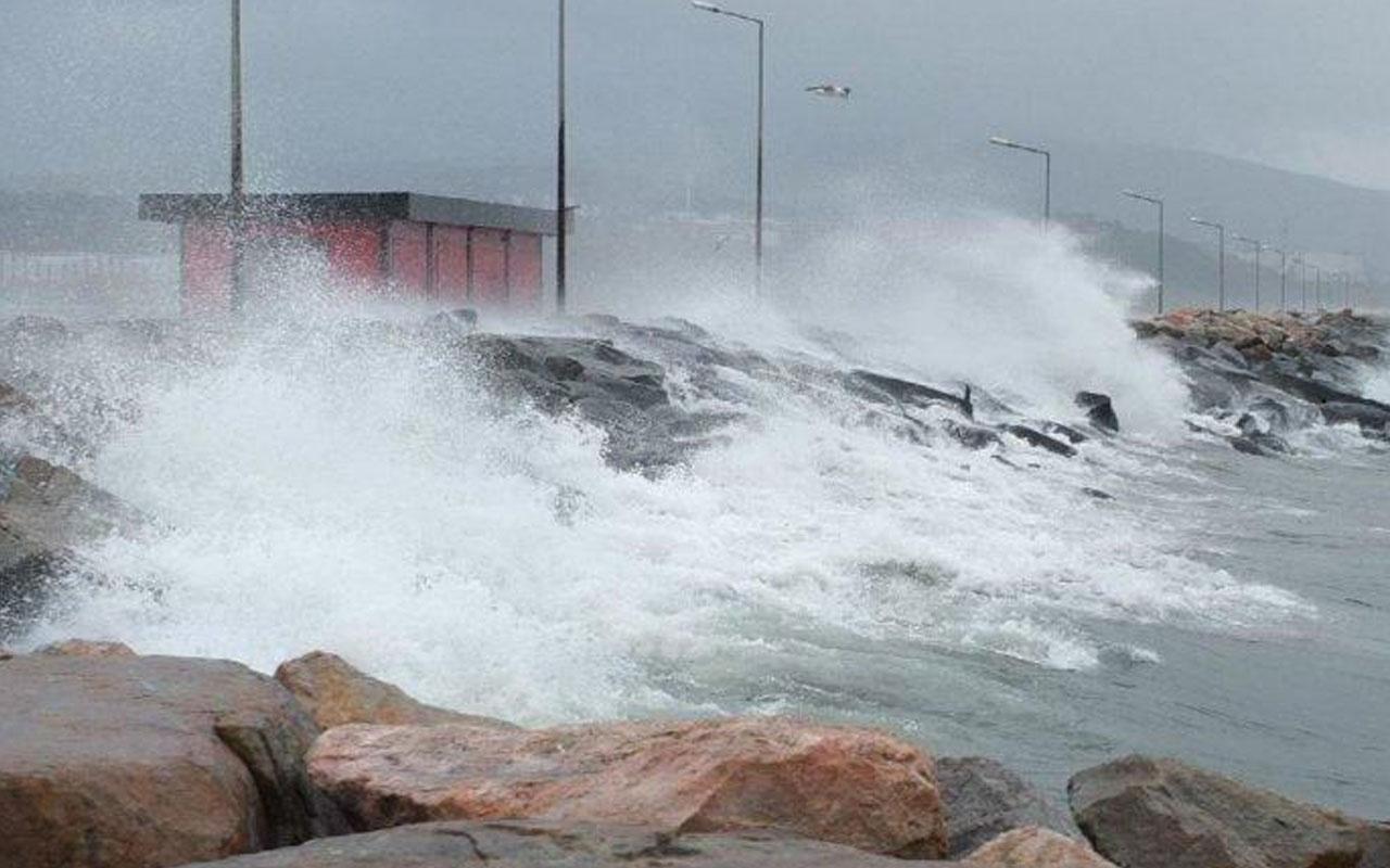 Meteoroloji uyardı! Kısa süreli ama çok kuvvetli olacak İstanbul da var