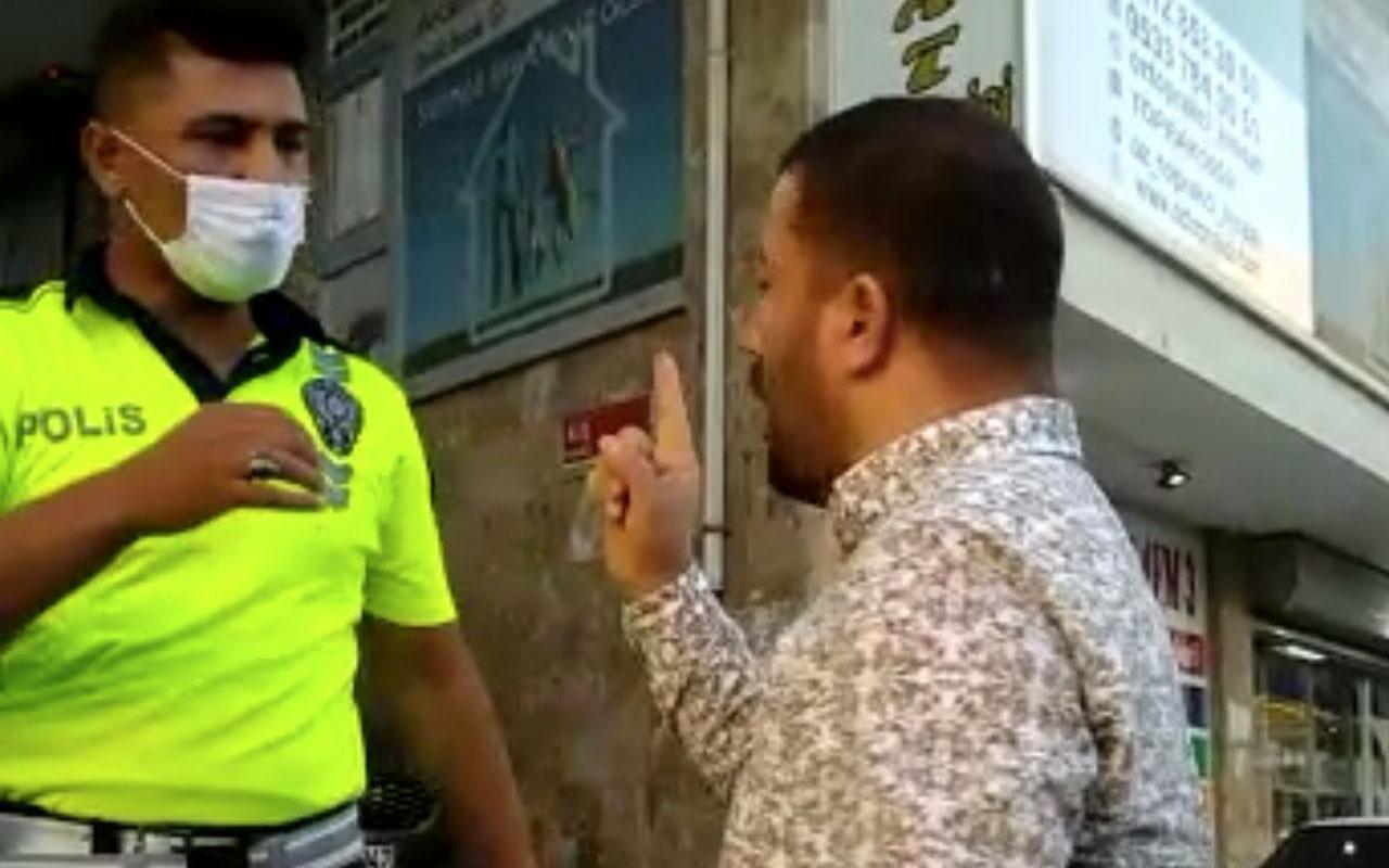 Şehir zorbasından polis memuruna: En son birinizi öldüreceğim