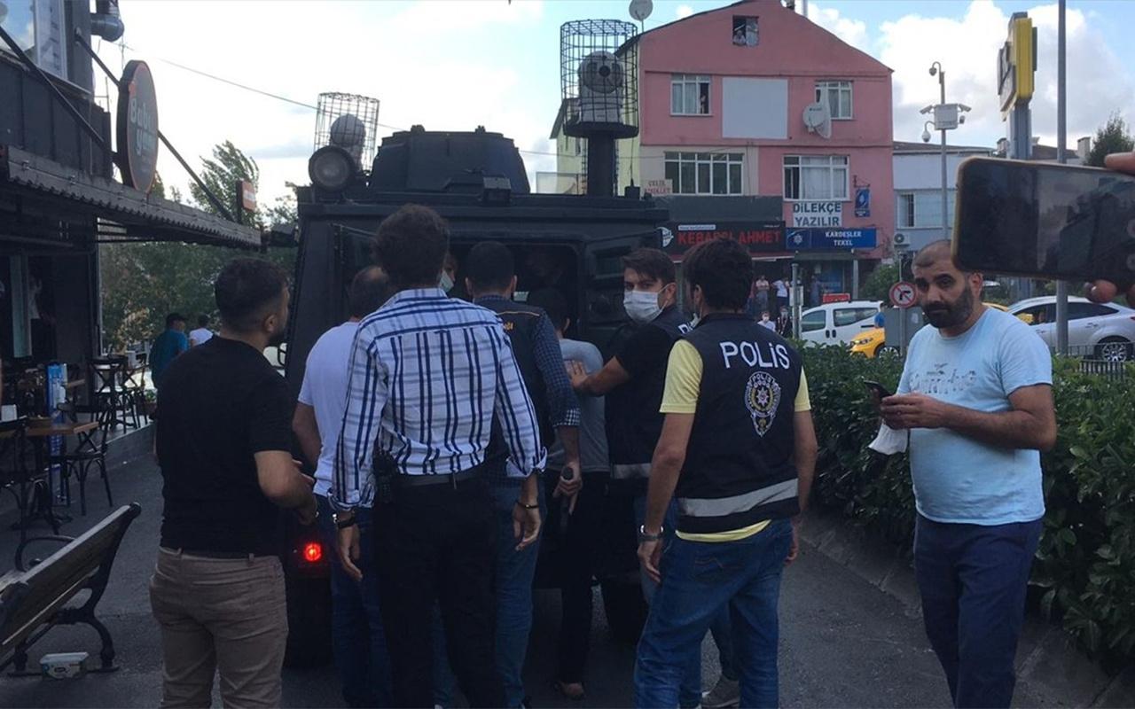 Çağlayan Adliyesi önünde silahlı çatışma