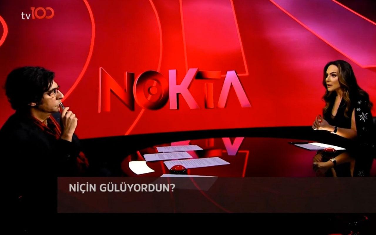 Okan Bayülgen'den Buket Aydın'a AK Partili misin sorusu