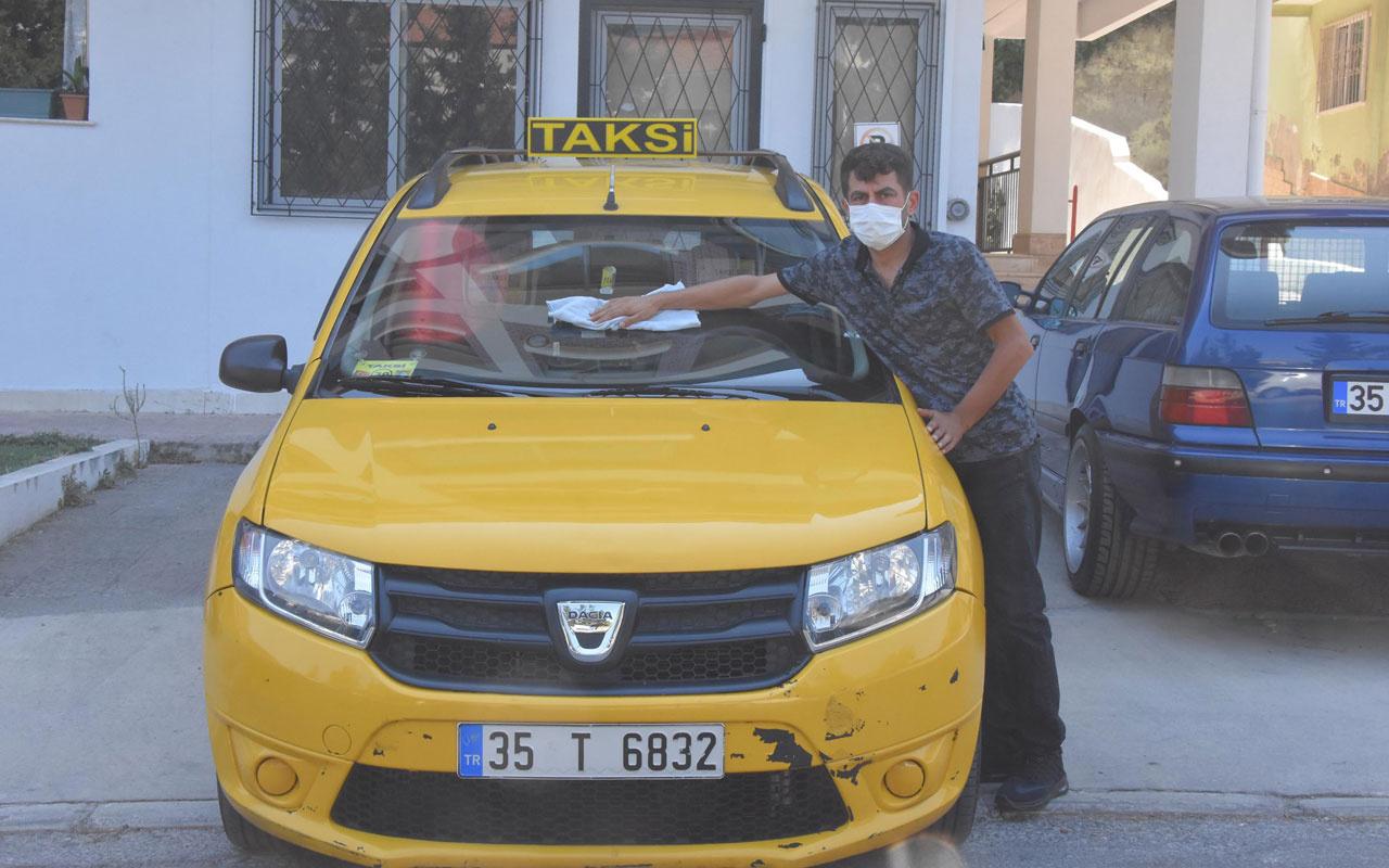 Taksisinde unutulan çantada bozuk para var sandı 2.5 kilo altın çıktı