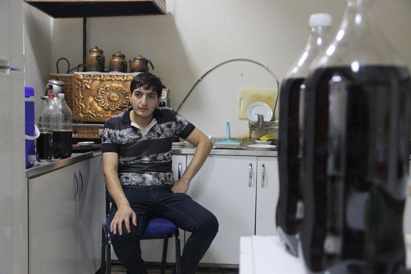 Diyarbakır'da günde 7.5 litre kola içen gencin yevmiyesi de olay oldu
