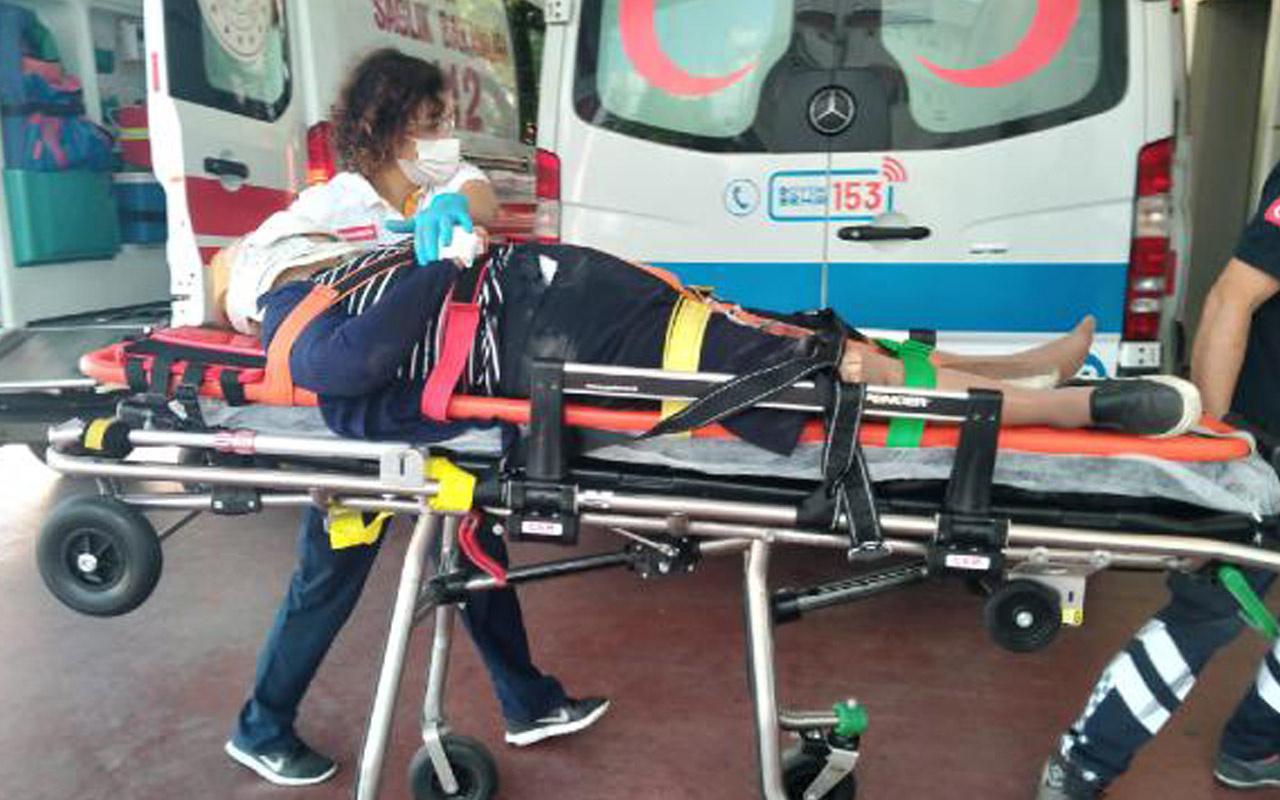 Kocaeli'de yaşlı kadını otomobil ezdi