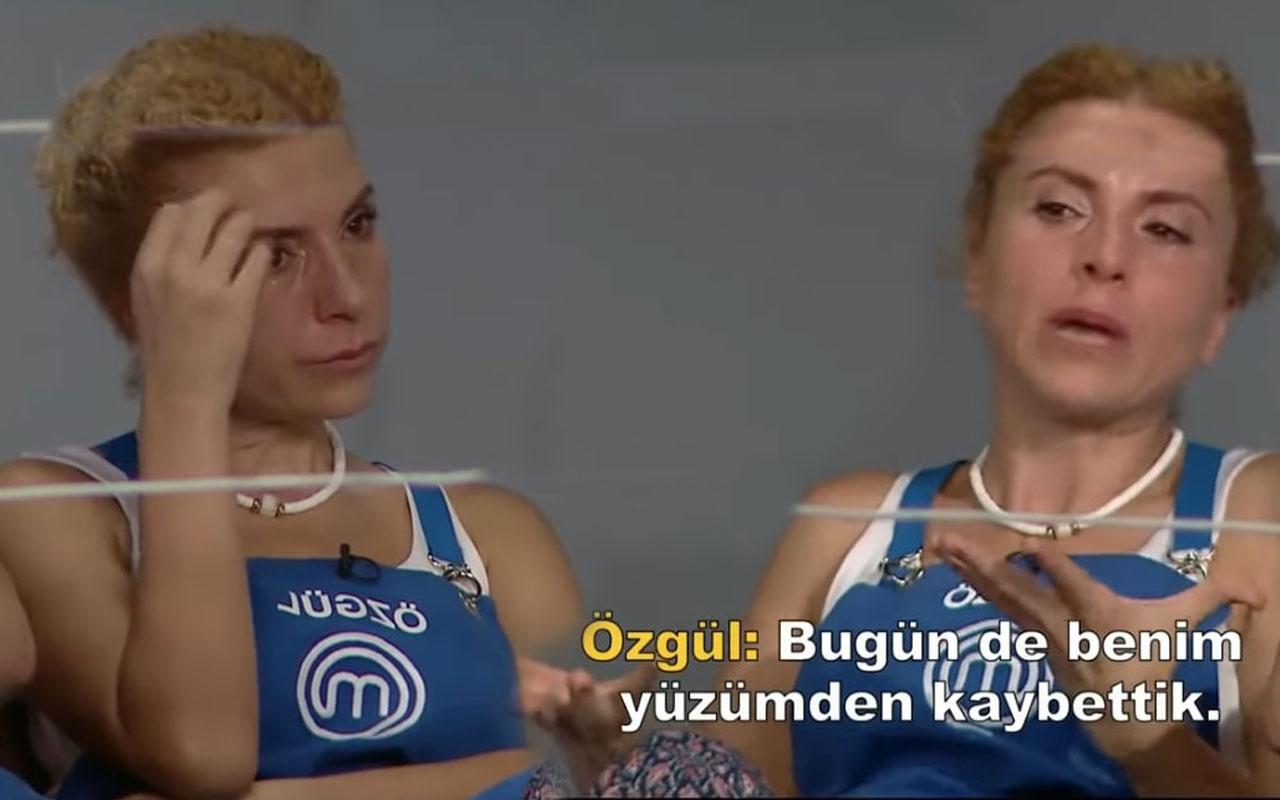 TV8 MasterChef'te Özgül hüngür hüngür ağladı Esra'nın takımı yenildi