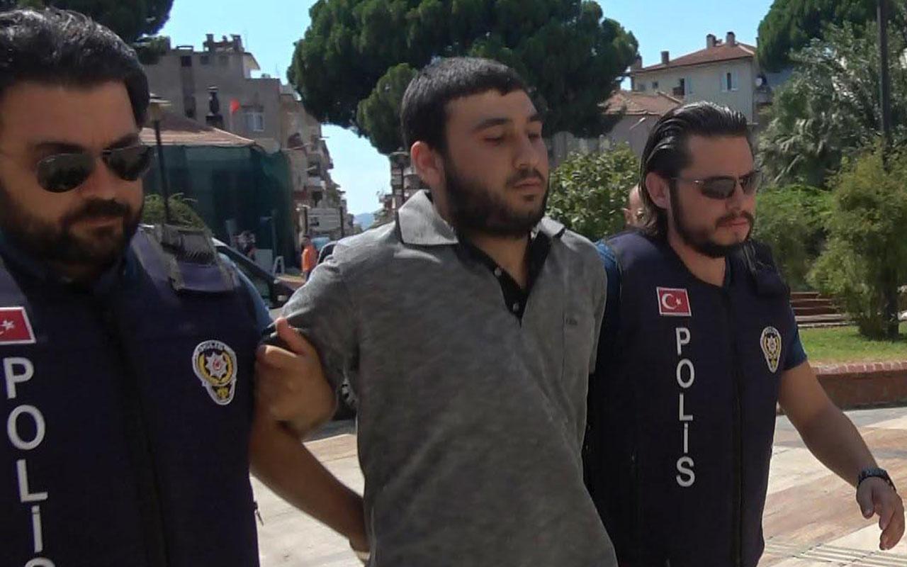 Aydın'da başını taşla ezerek öldürdü 40 metre sürükledi! Katil komşunun cezası belli oldu