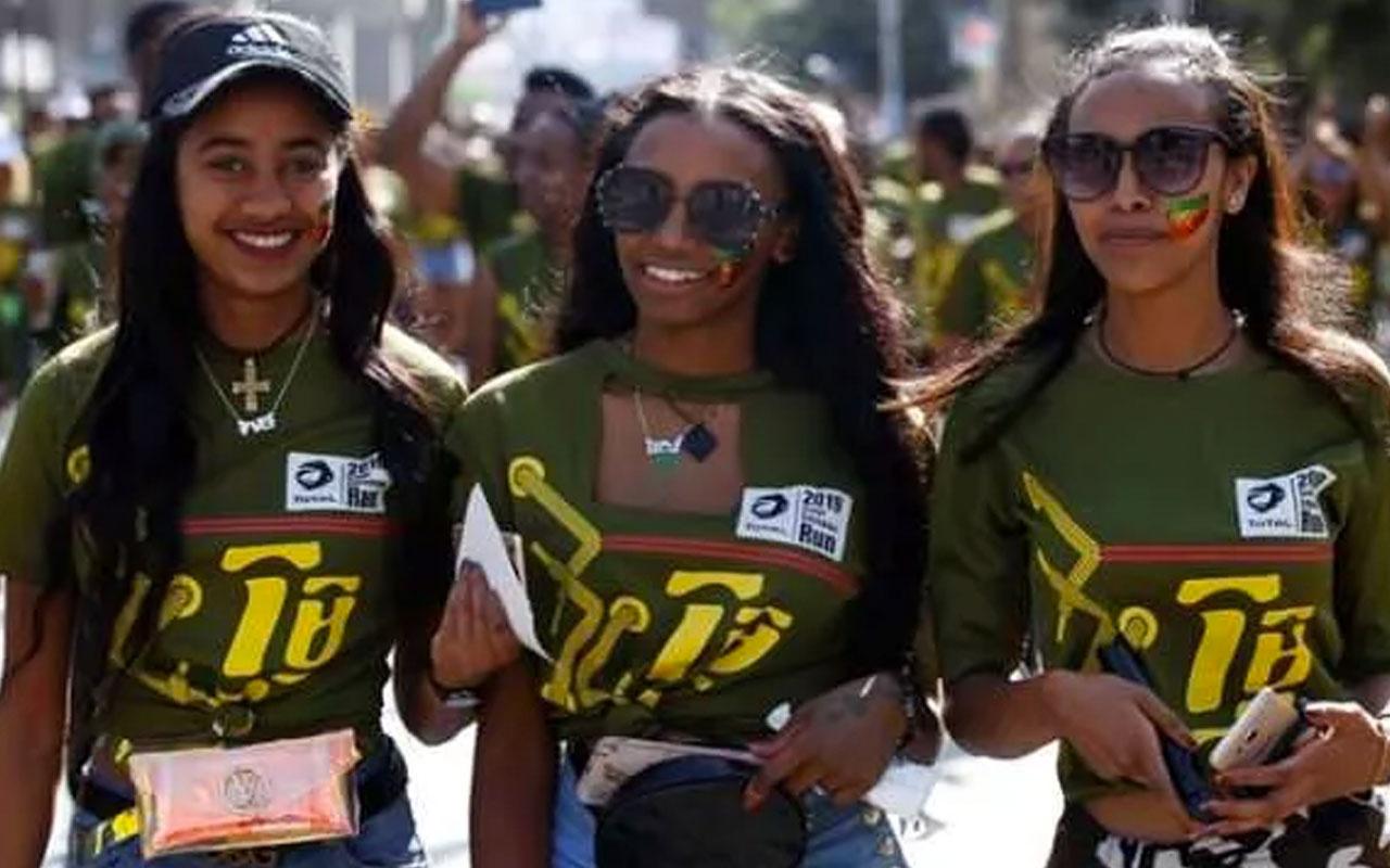 Kendi takvimini kullanan Etiyopya 2013'e yeni girdi