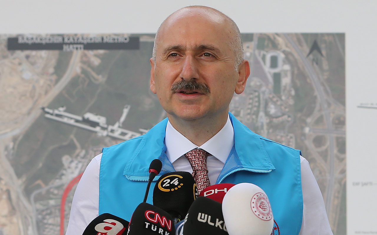Başakşehir-Kayaşehir Metro Hattı 18 ay sonra hizmete girecek! Bakan Karaismailoğlu açıkladı