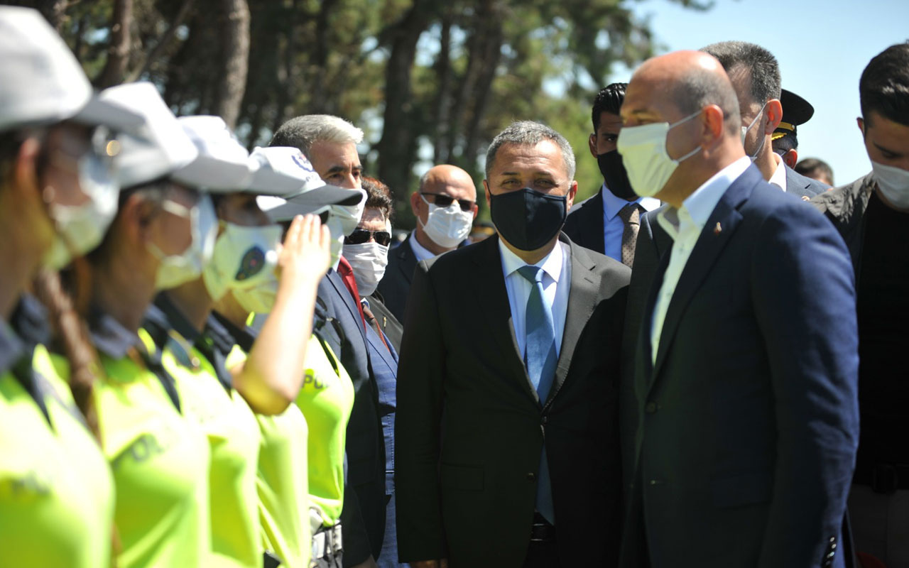 Emniyet müdüründen 4 polise maske cezası