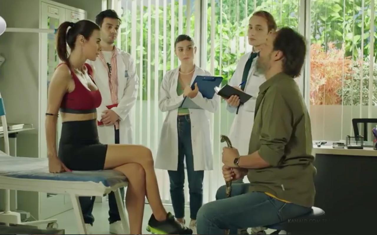 Hekimoğlu dizisinde erotik sahne pes dedirtti Defne Samyeli utandırdı!