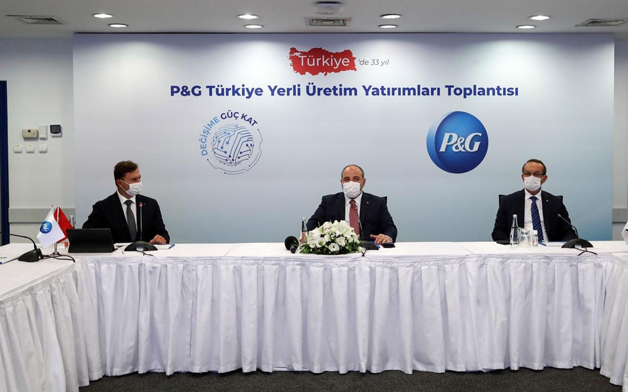 Global şirket P&G Türkiye'de 30 milyon dolarlık 'yerlileşme' adımına hazırlanıyor