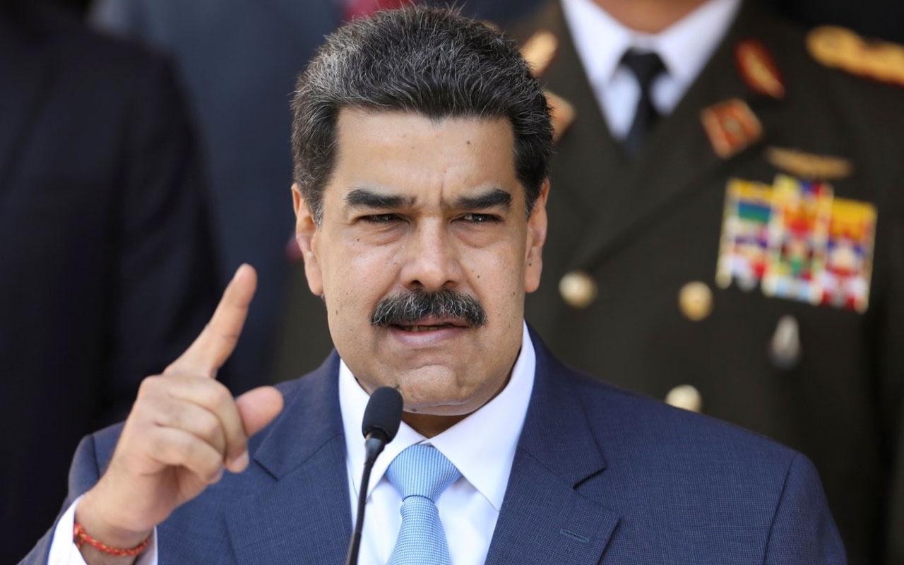 Venezuela Devlet Başkanı Nicolas Maduro: Amerikalı bir casus yakaladık