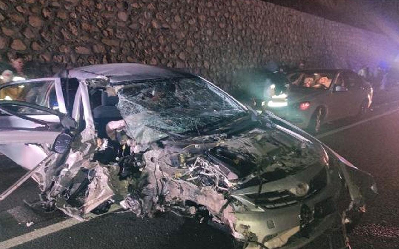 Kovancılar Belediye Başkanı Hacı Akpınar kaza yaptı