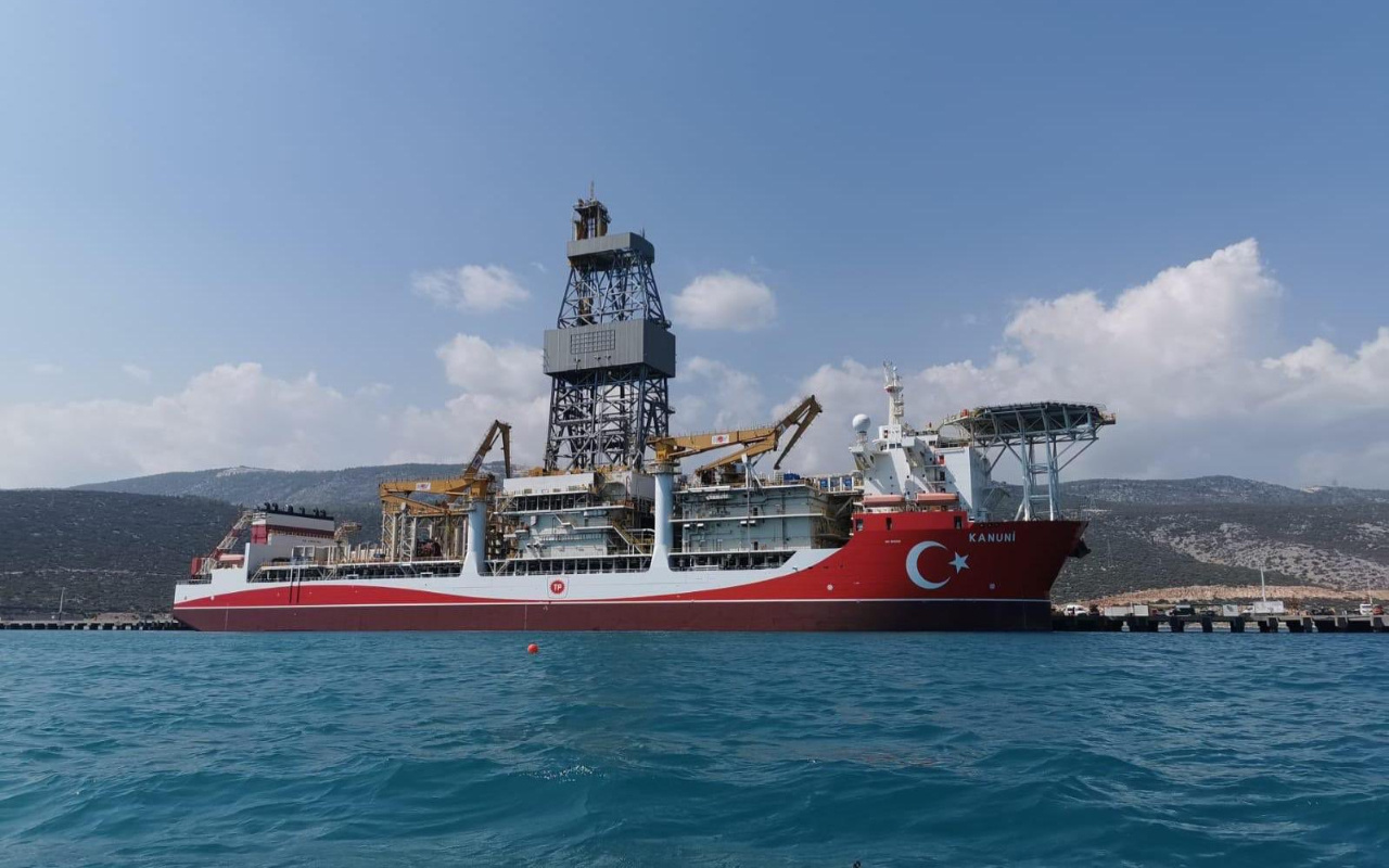 Kanuni sondaj gemimiz Karadeniz'de sondajlarına başlayacak