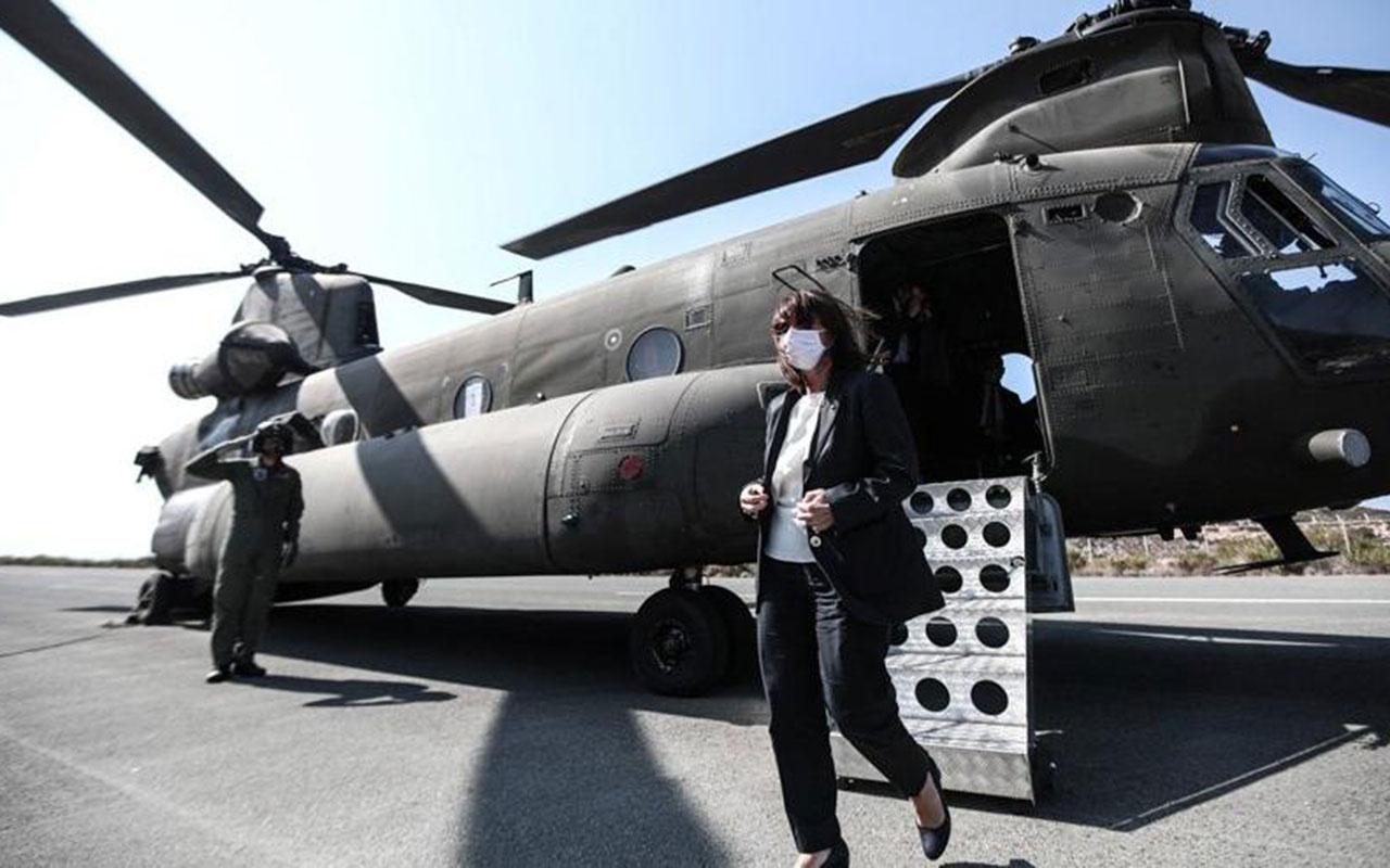 Yunanistan'ın kafası karışık! Cumhurbaşkanı'ndan provokatif ziyaret