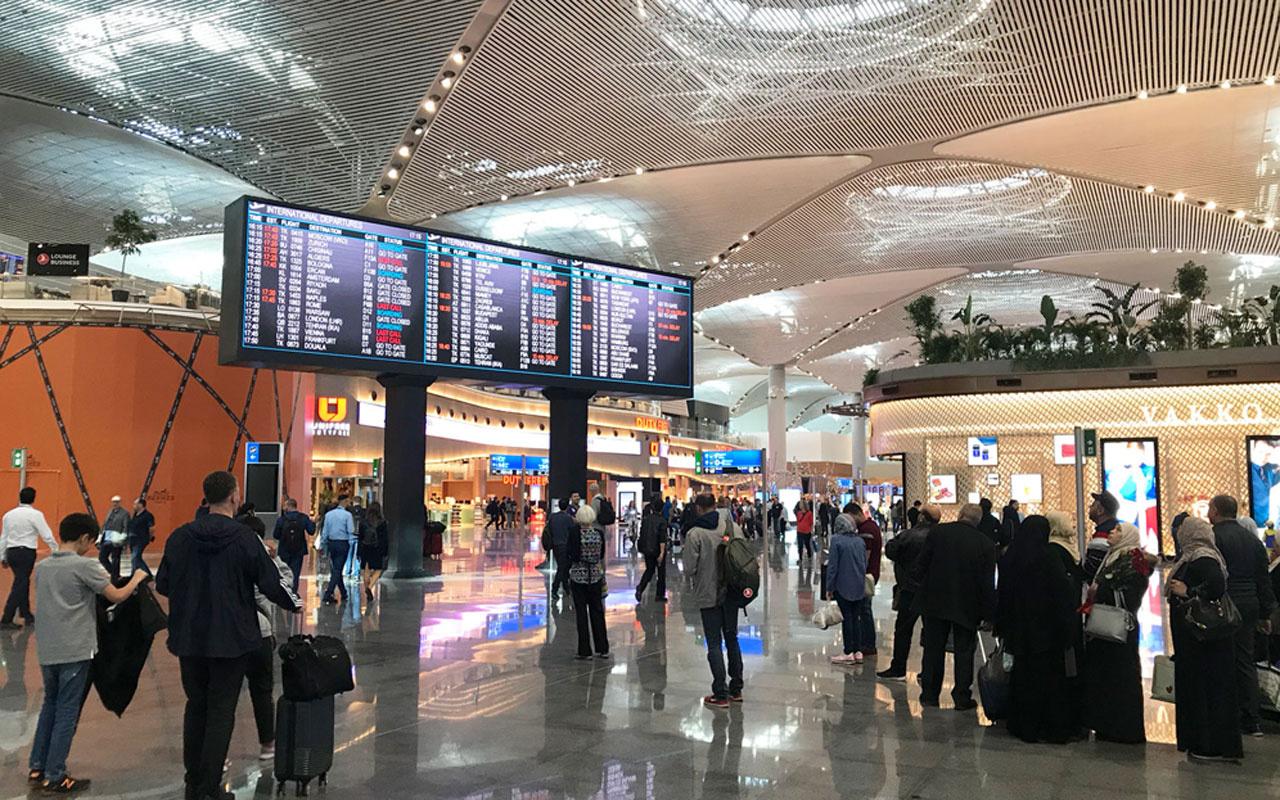 İstanbul Havalimanı'nda aşılama başladı hem çalışanlar hem yolcular aşı olacak