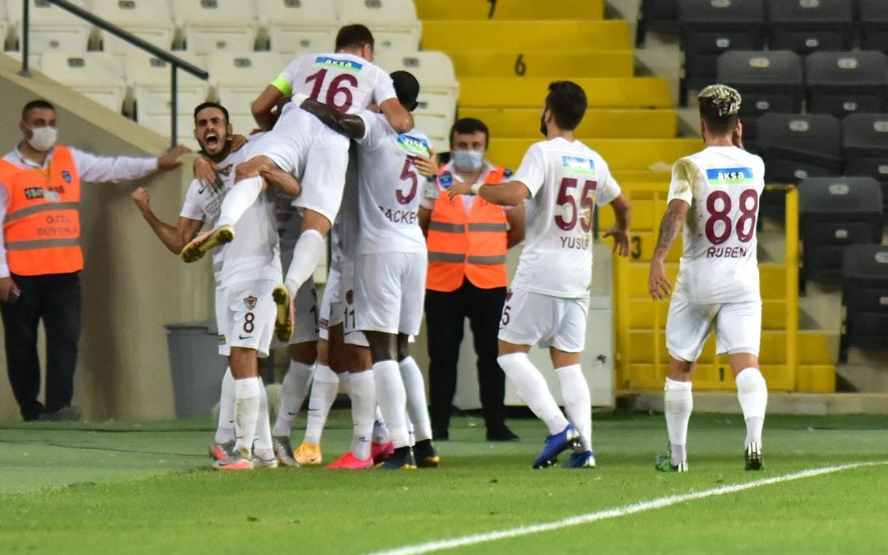 Hatayspor, son şampiyon Başakşehir'i mağlup etti