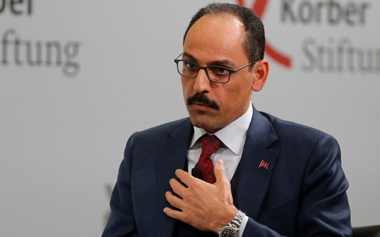 Cumhurbaşkanlığı Sözcüsü İbrahim Kalın'dan 'Doğu Akdeniz' mesajı
