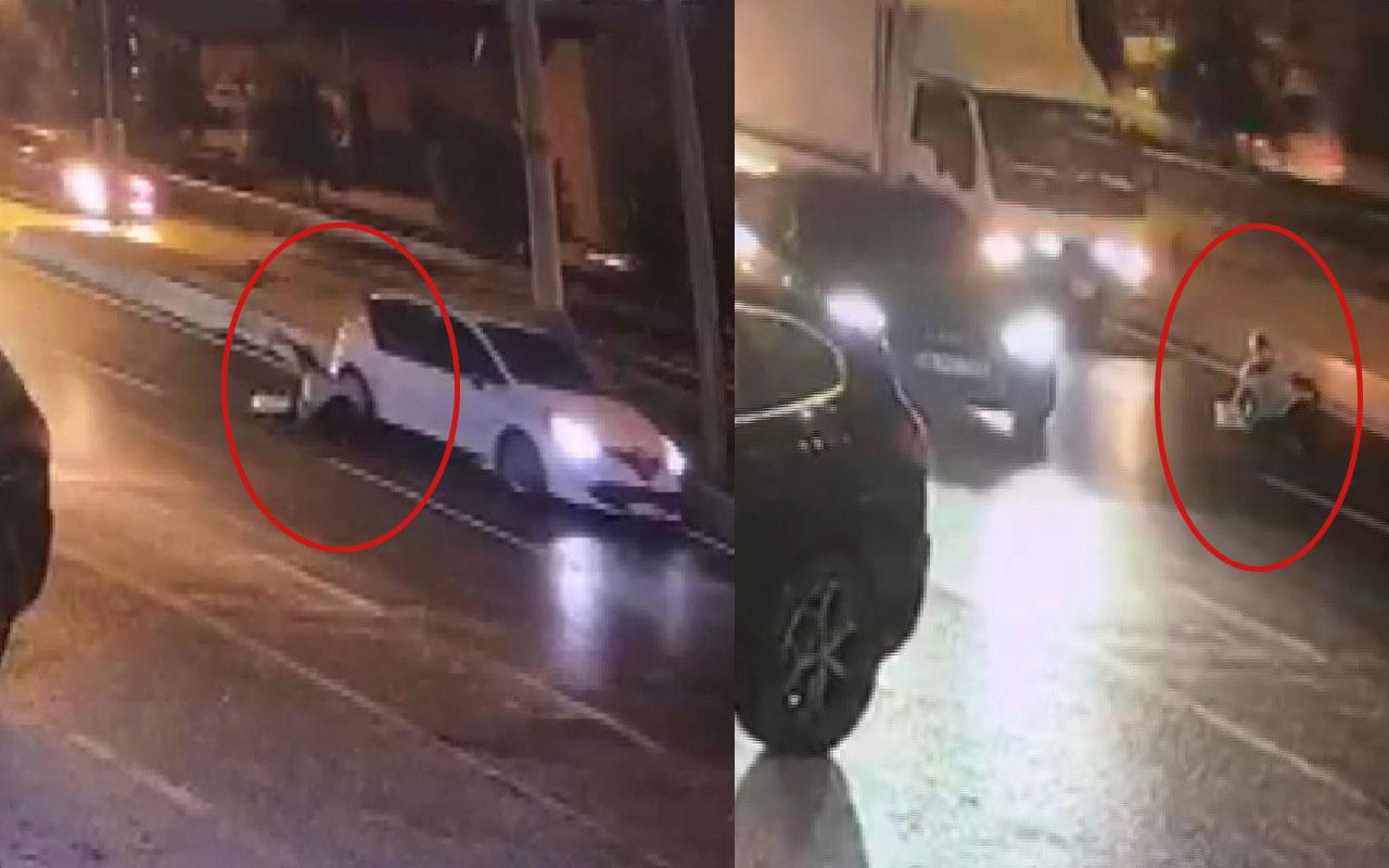 İstanbul'un göbeğinde dehşet! Siyahi kadını hareket halindeki arabadan attılar