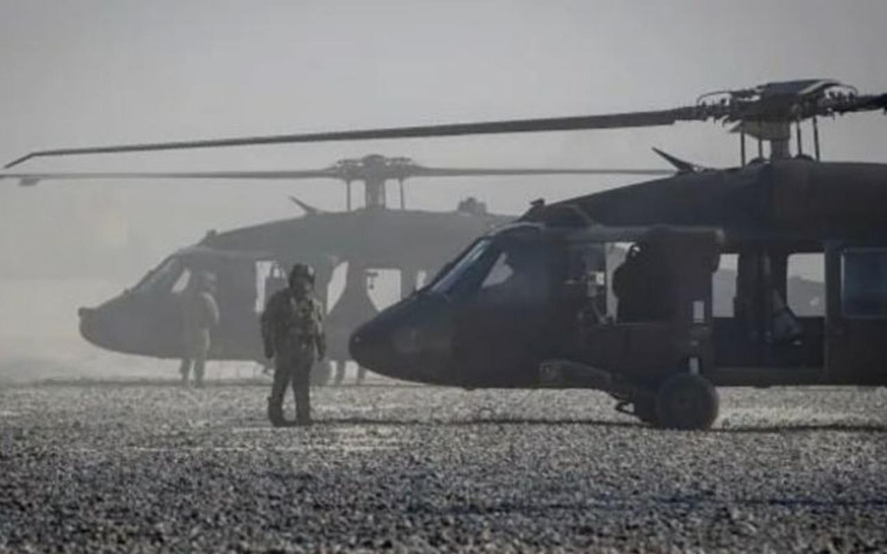 Son dakika Suriye'de ABD helikopteri düştü