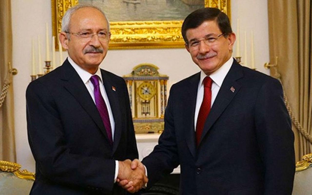 Kemal Kılıçdaroğlu ve Ahmet Davutoğlu görüştü ittifak açıklaması