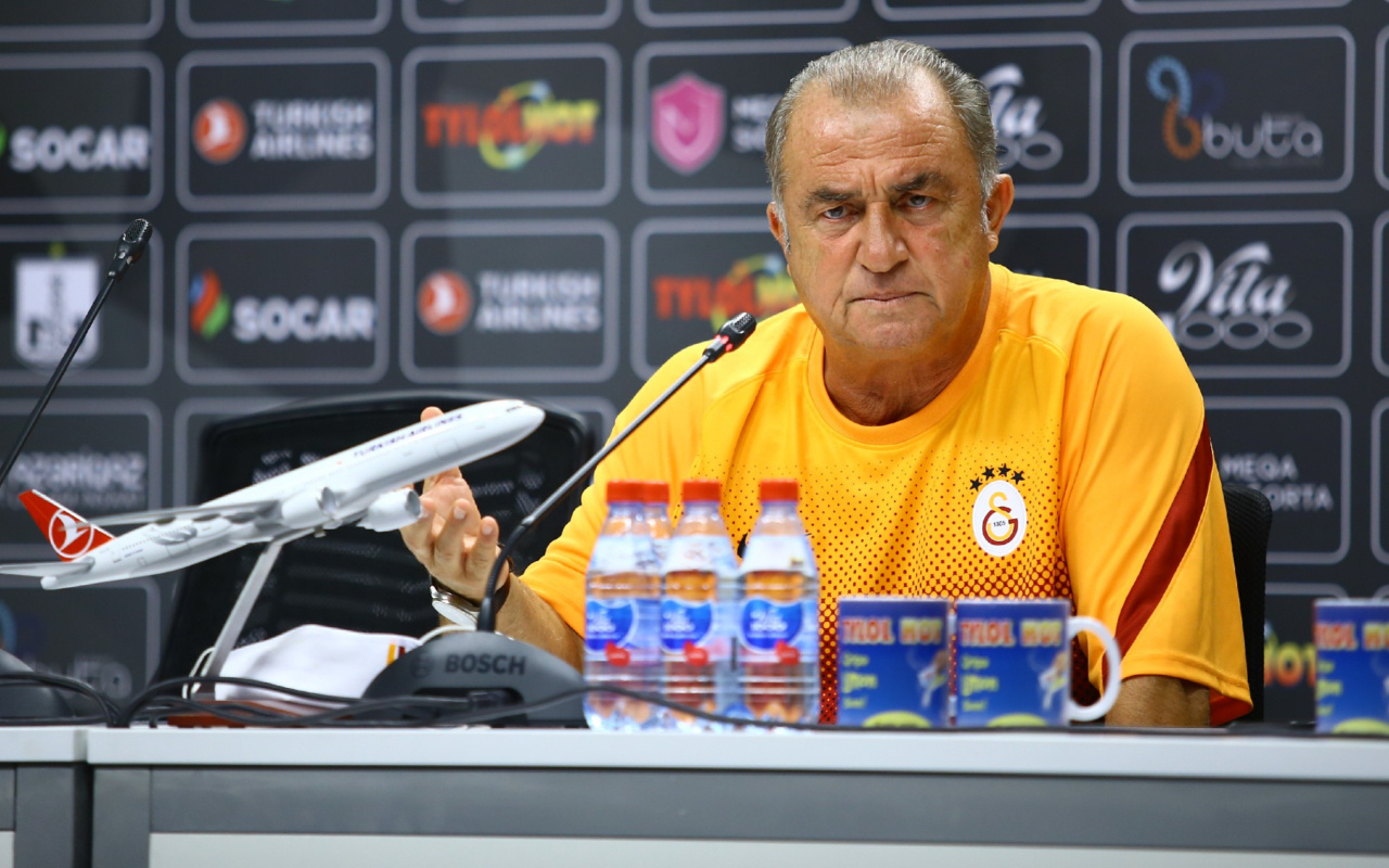 Galatasaray Teknik Direktörü Fatih Terim, Neftçi Bakü maçı öncesi konuştu
