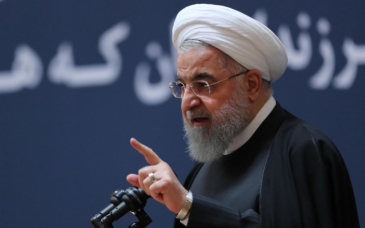 İran devlet başkanı Ruhani İsrail'e üs tahsis etmek isteyen BAE'ye seslendi: Sorumlu olacaksınız