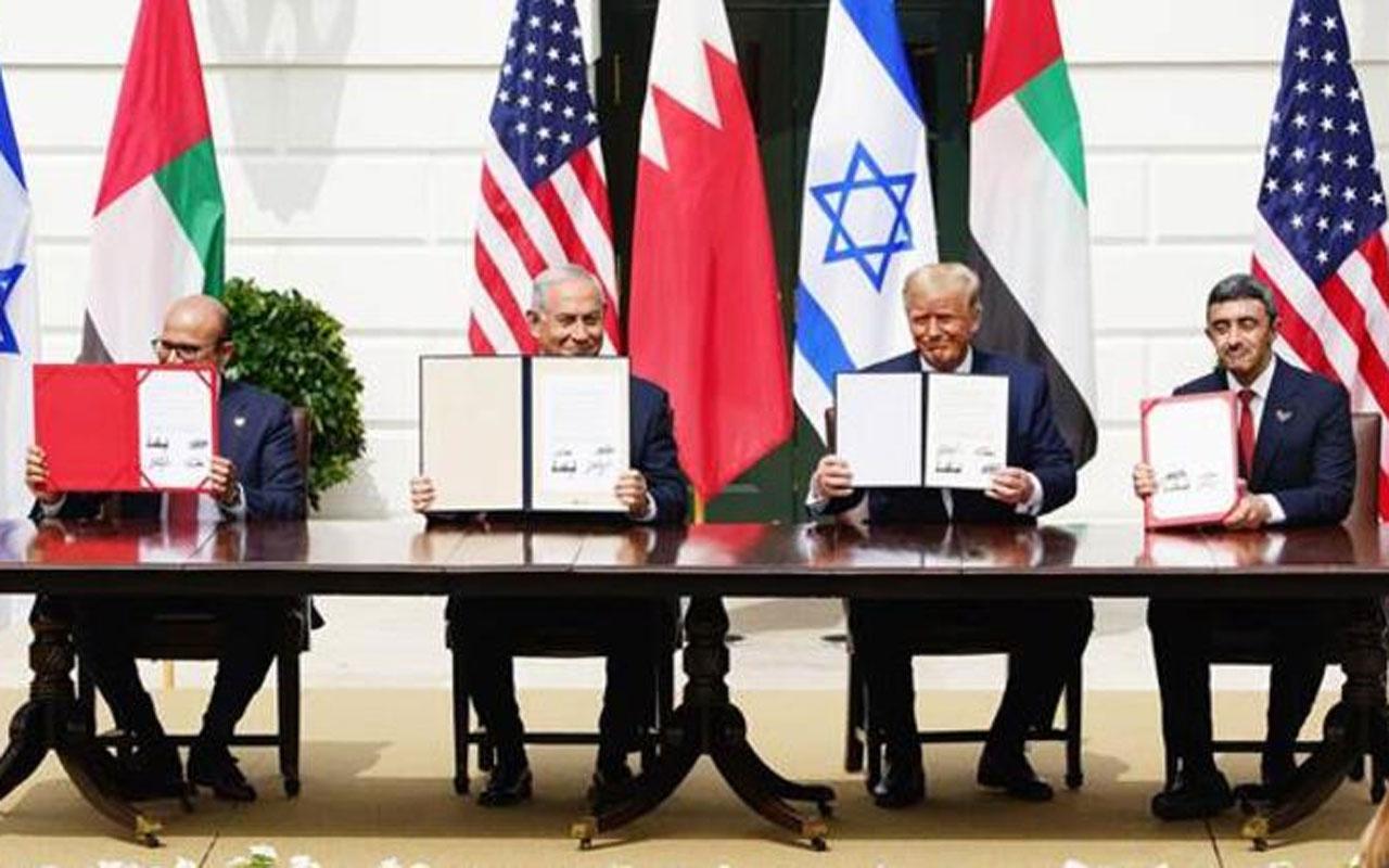 BAE'den İran ve Filistin'i kızdıran İsrail anlaşması