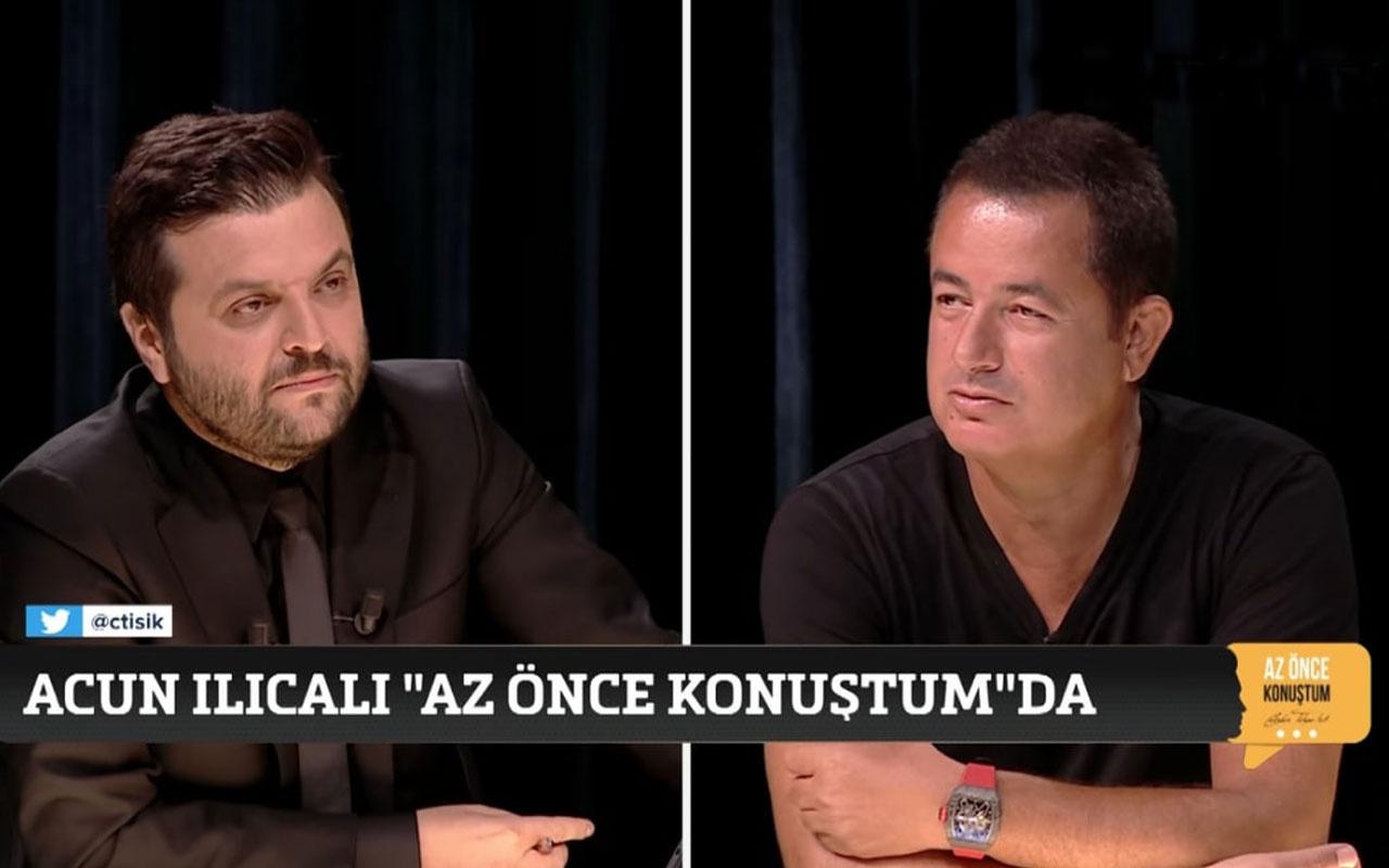 Acun Ilıcalı canlı yayında açıkladı! TV8'e Kuzey Avrupa'dan talip var