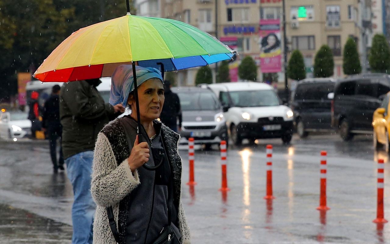 Meteoroloji'den İstanbul ve Trakya için kuvvetli yağış uyarısı