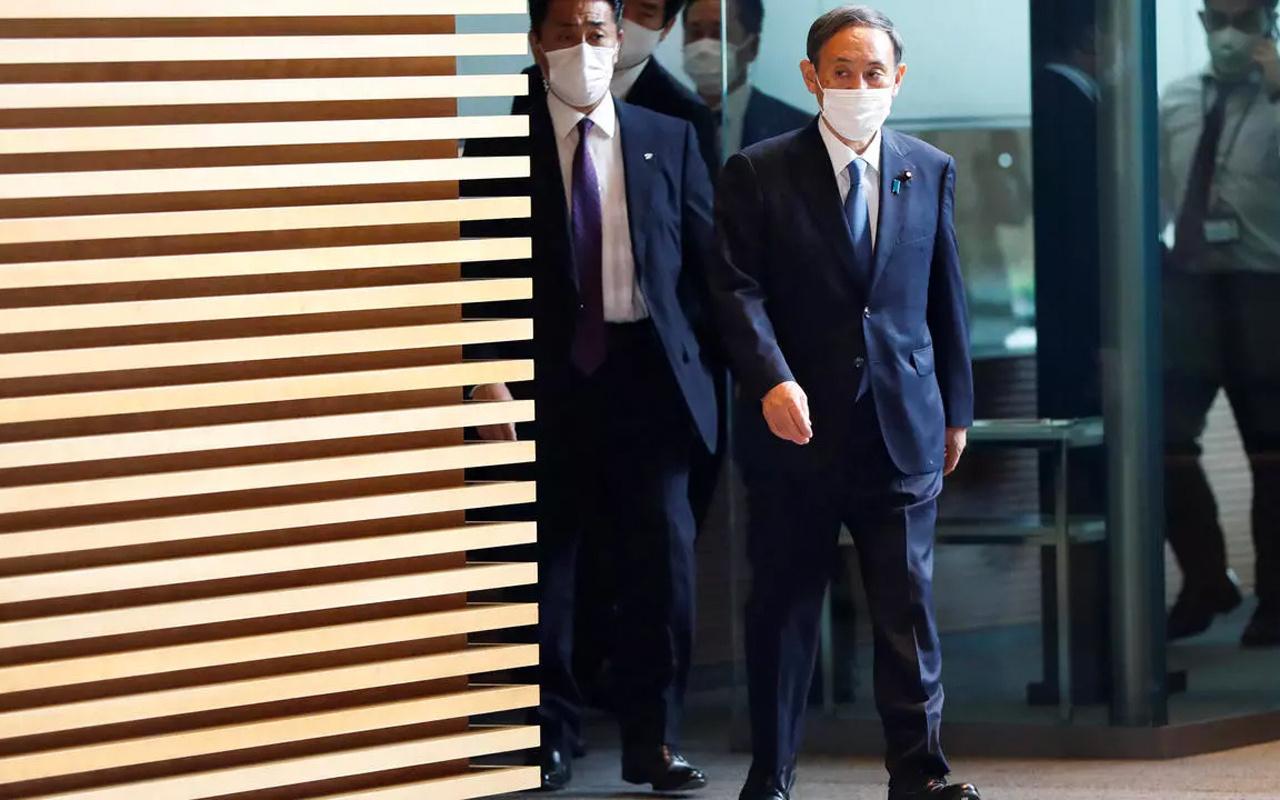 Japonya'da yeni başbakan belli oldu! Olağanüstü oturumda Suga Yoşihide seçildi