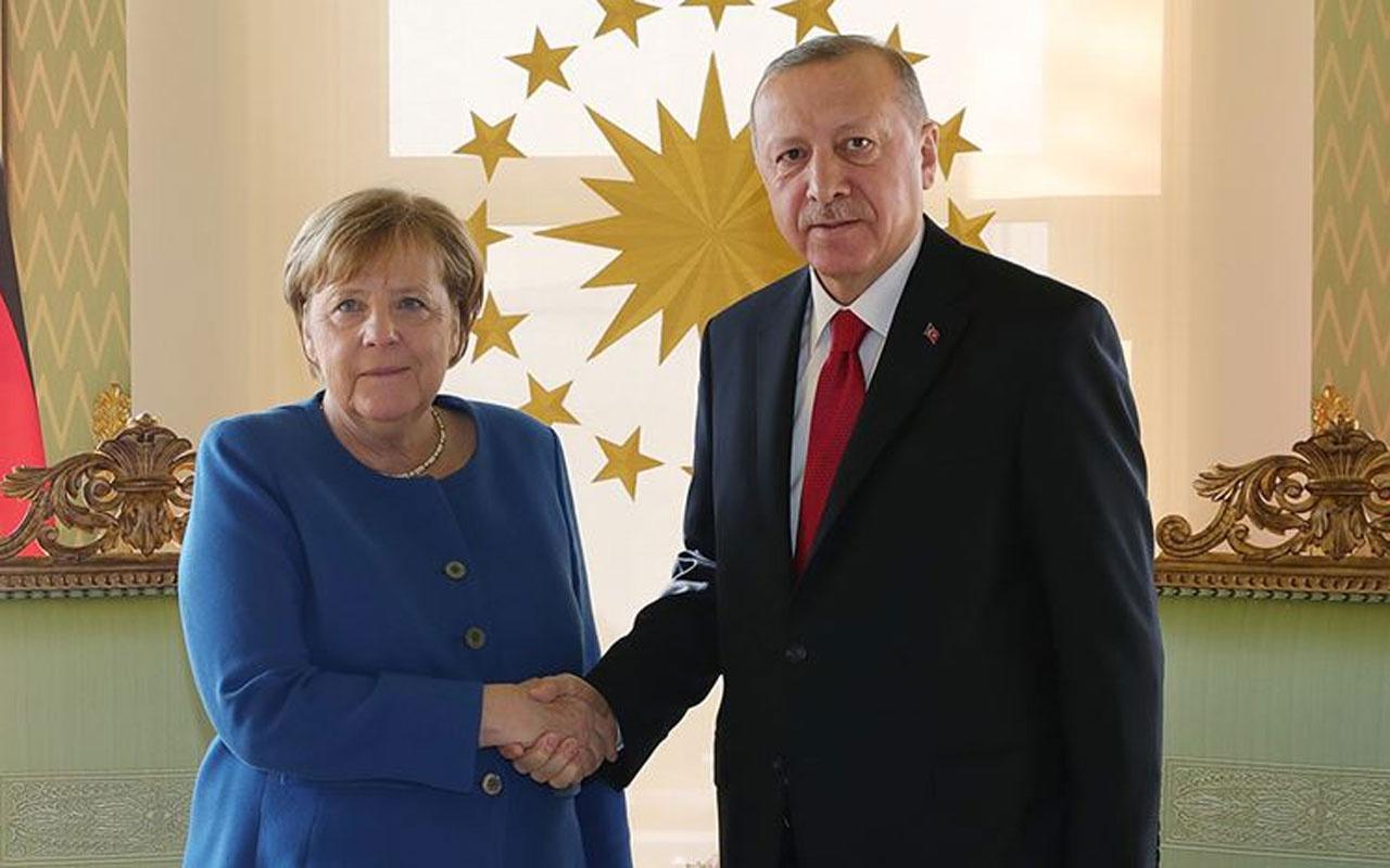 Cumhurbaşkanı Erdoğan ve Merkel'den kritik görüşme