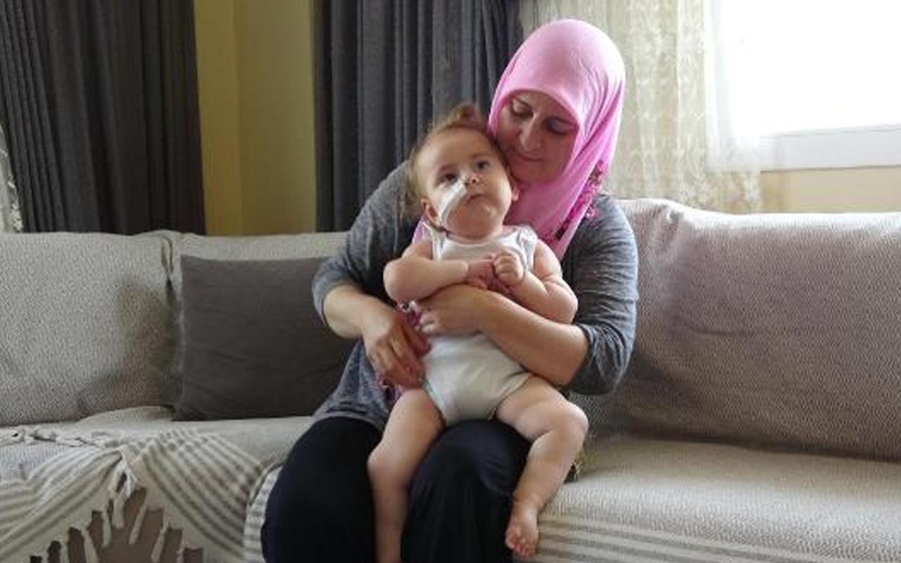 Aydın'da Minik İkra Deniz'in Amerika'daki gen tedavisi için 18 milyon liraya ihtiyaç var