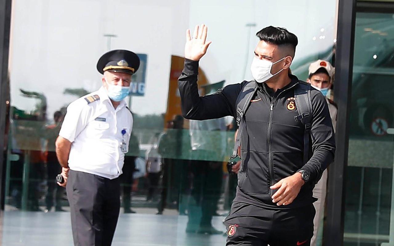 Galatasaray kafilesi Azerbaycan'a ayak bastı