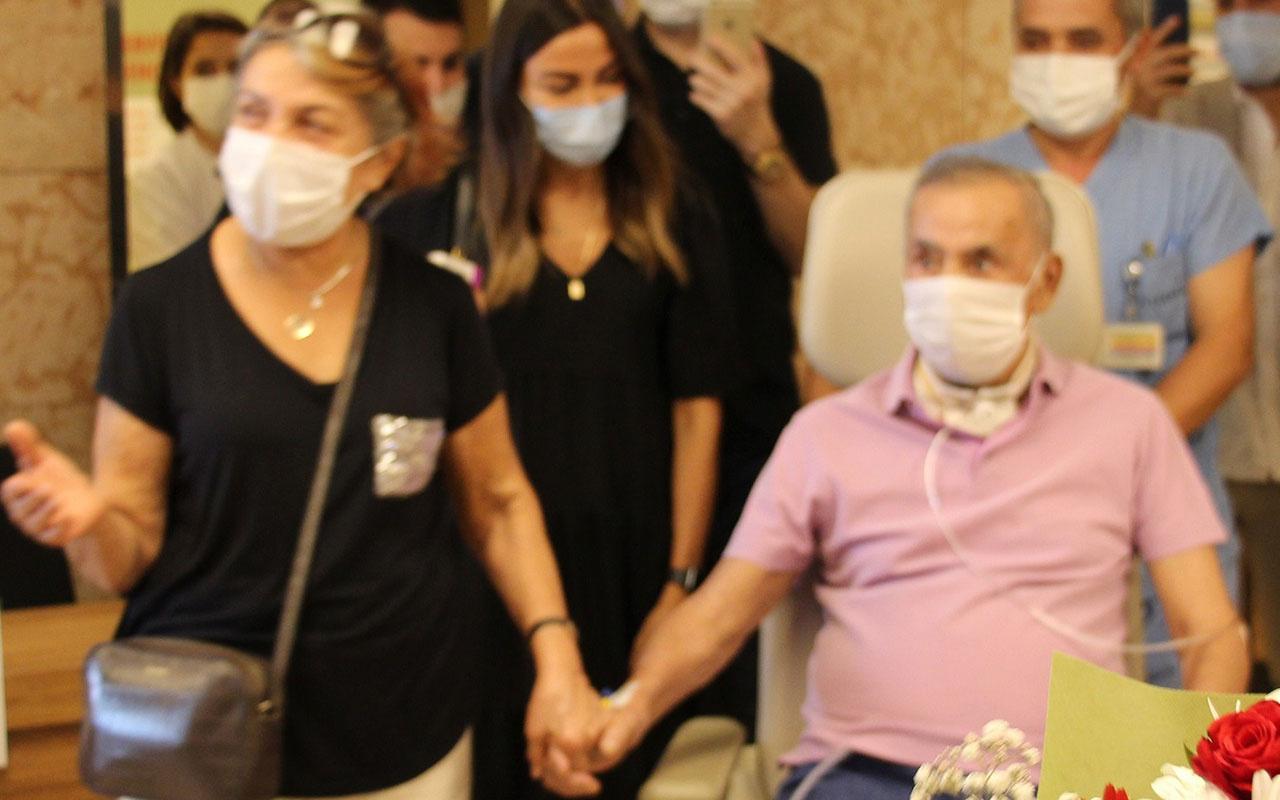 4 ay sonra yoğun bakımdan çıktı ilk bunu sordu: Neden herkes maske takıyor?