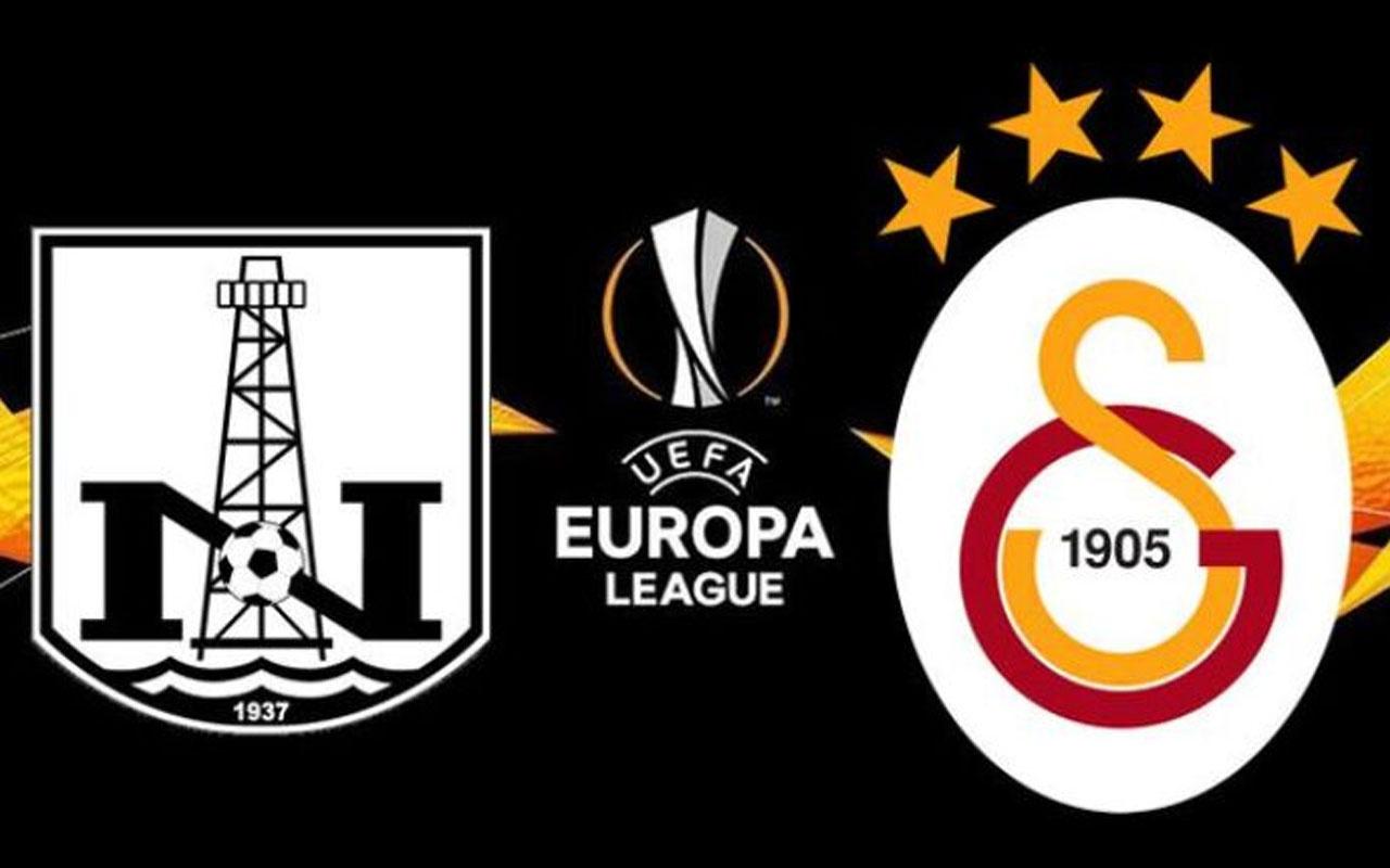 Neftçi Bakü - Galatasaray Avrupa Ligi maç sonucu