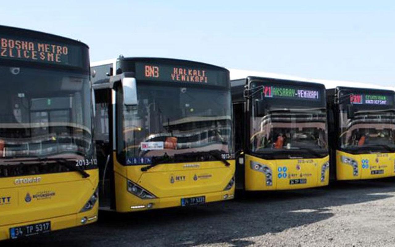 İstanbul'da tüm otobüsler İETT altında birleşti