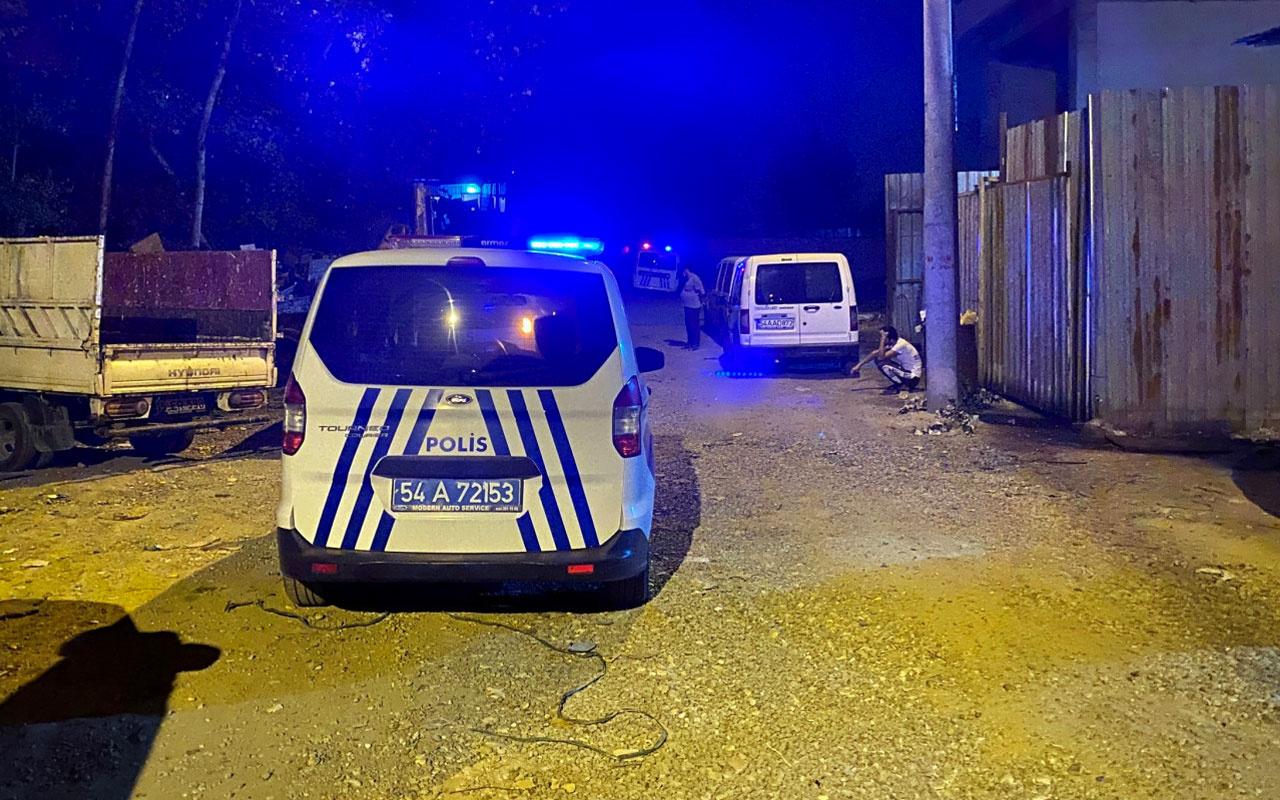 Sakarya'da hurdacı dükkanında bir kişi ölü olarak bulundu