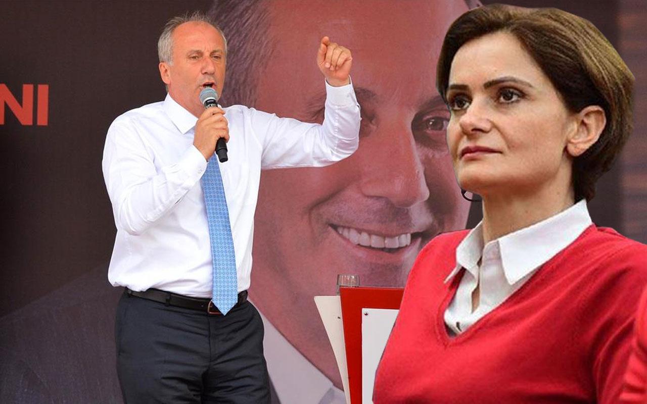 Muharrem İnce'den, Kaftancıoğlu'na 'Mustafa Kemal' tepkisi: Haddine değil