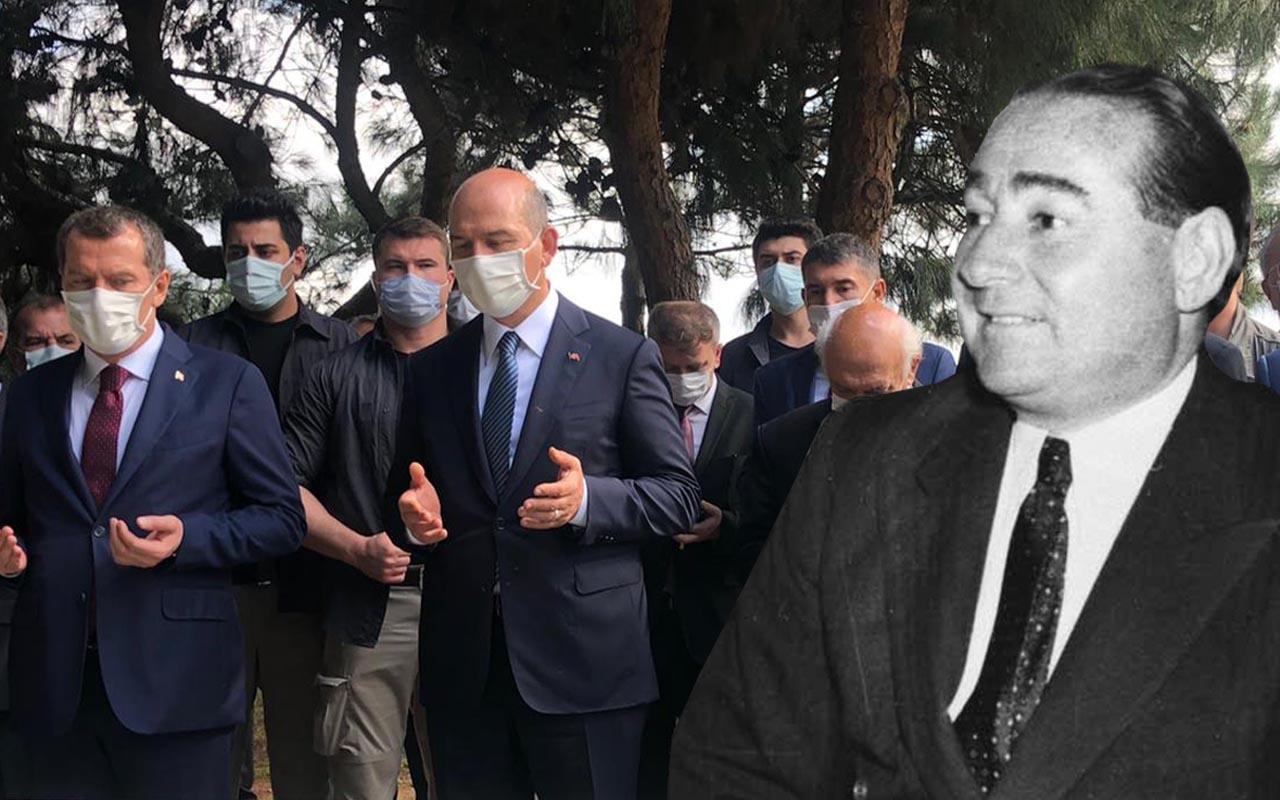 Adnan Menderes idam edilişinin 59'uncu yılında mezarı başında anıldı