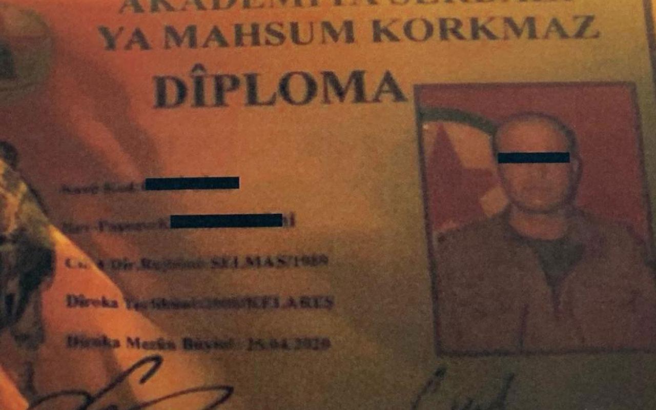 PKK'nın suikast timi sigara içerken fark edildi, etkisiz hale getirildi