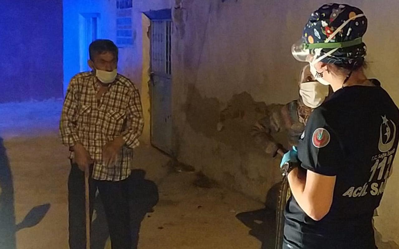 Burdur'da Covid-19 testi yapılacak yaşlı adam pencereden kaçtı böyle konuştu