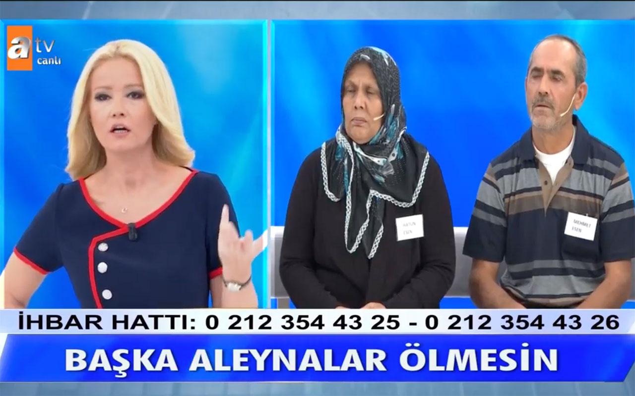Ümit Can'ın annesi 'ölümümden Müge Anlı suçlu' deyip intihar etti! Müge Anlı ATV canlı yayında cevap verdi