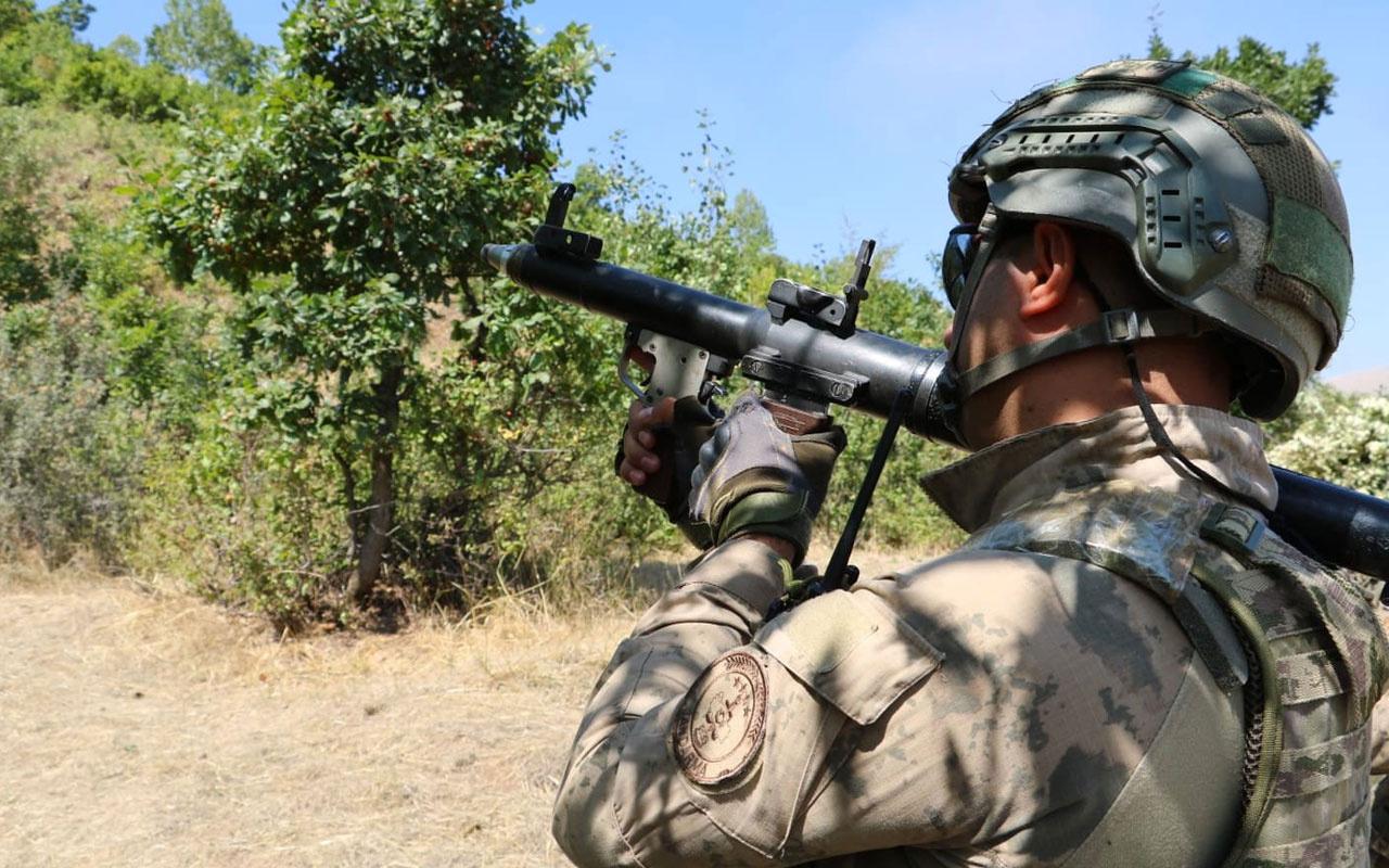 Pençe-Kaplan Operasyonu bölgesinde PKK'lı 2 terörist etkisiz hale getirildi