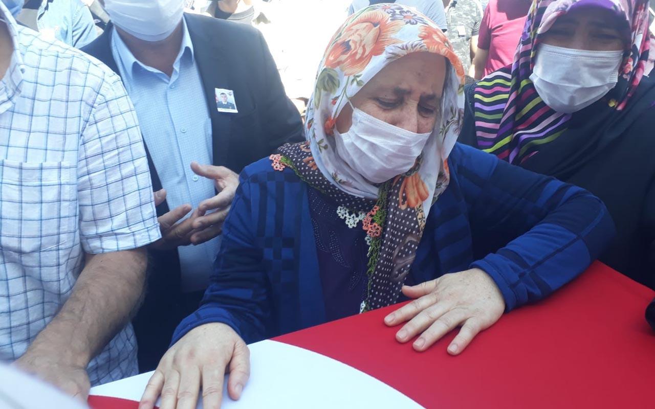 Türkiye şehitlerine ağlıyor Kuzey Irak şehitleri son yolculuğuna uğurlandı