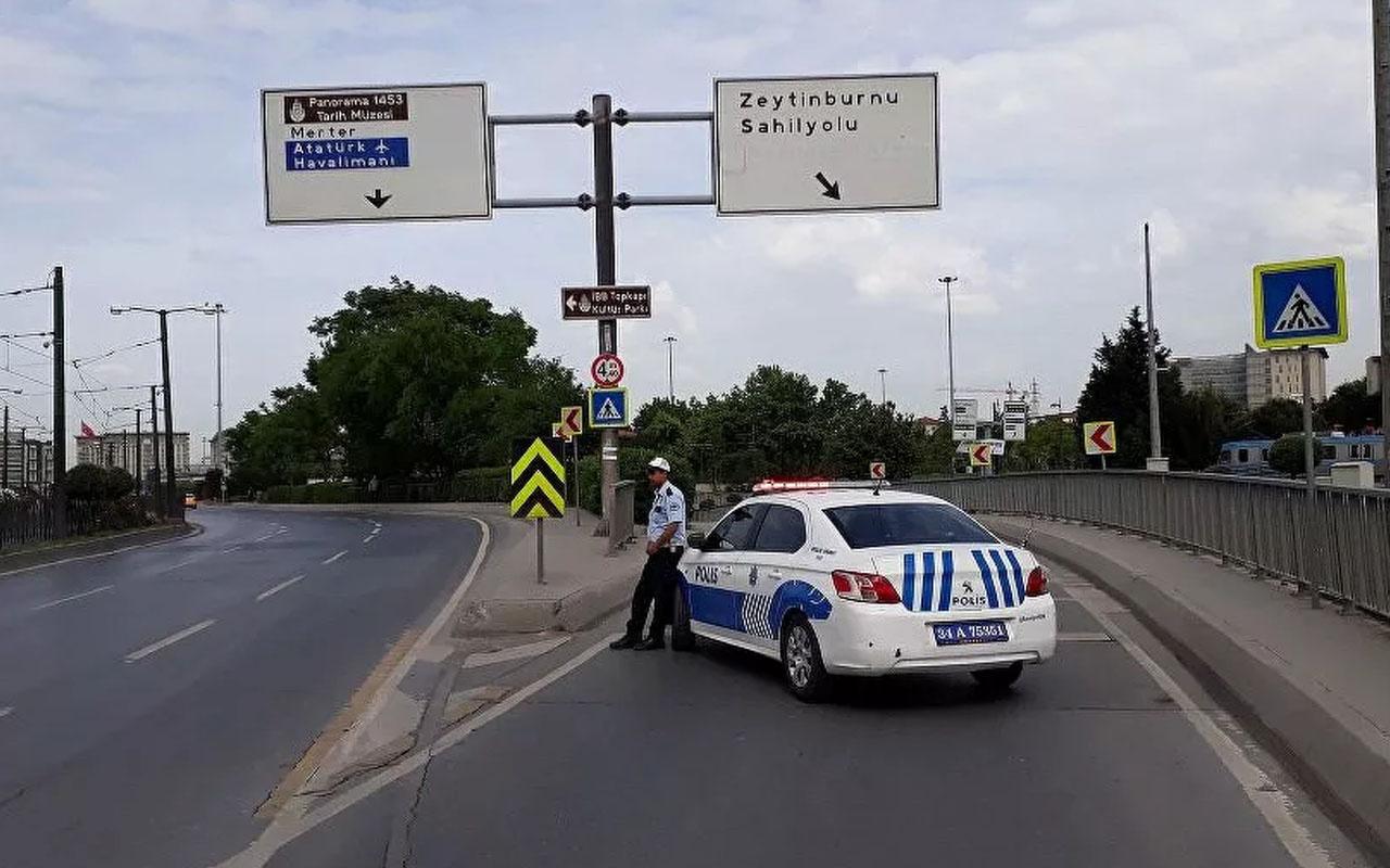 Vodafone İstanbul Yarı Maratonu nedeniyle İstanbul'da bazı yollar trafiğe kapatılacak